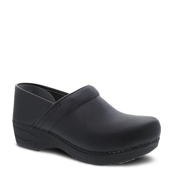 ダンスコ レディース サンダル シューズ XP 2.0 Waterproof Leather Clogs Black Waterproof Pull Up