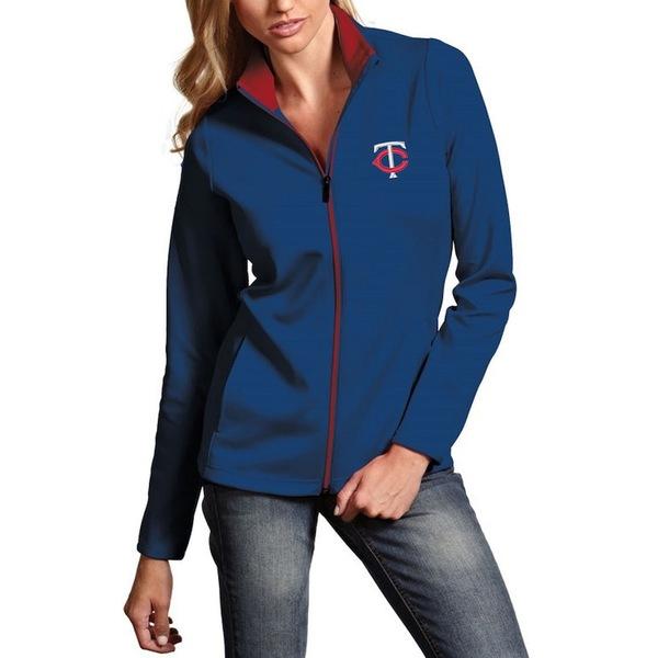 アンティグア レディース ジャケット&ブルゾン アウター Minnesota Twins Antigua Women's Leader Full-Zip Jacket Navy