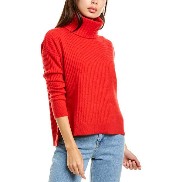 ラフィ red アウター Sweater Raffi ニット&セーター Cashmere レディース Turtleneck