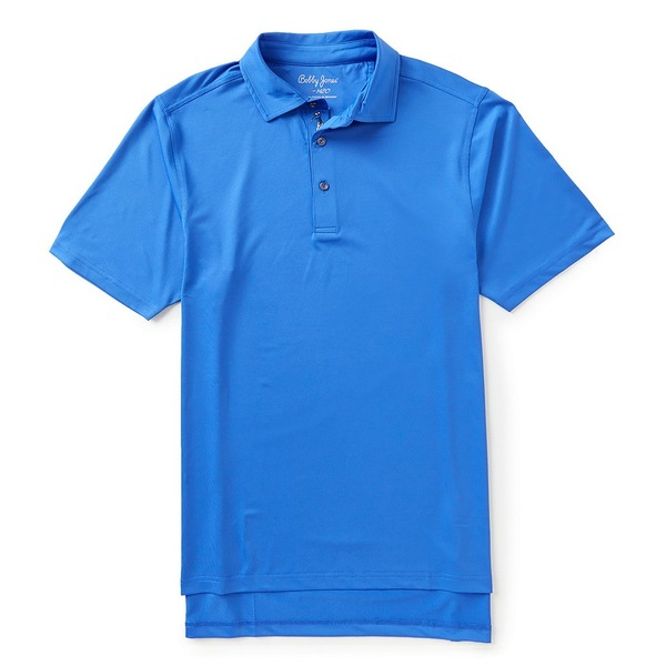 ボビージョーンズ メンズ シャツ トップス Golf XH20 Solid Performance Jersey Short-Sleeve Polo Shirt Marina