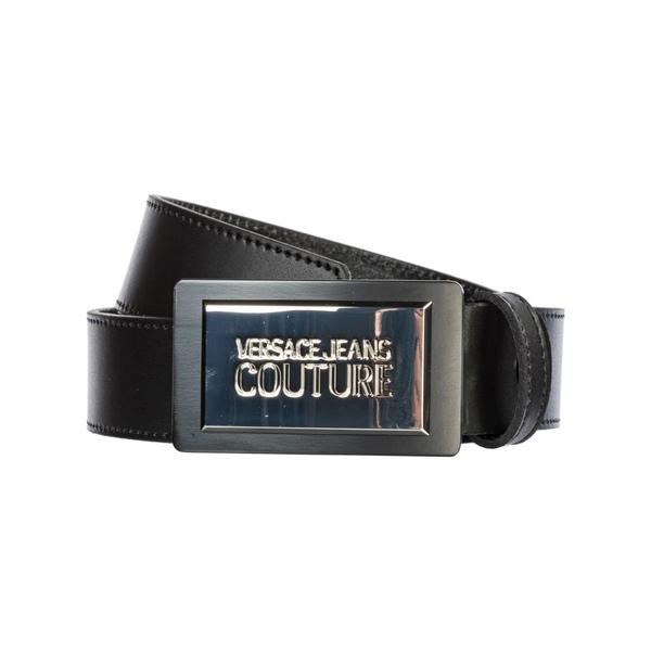 ベルサーチ メンズ ベルト アクセサリー Versace Jeans Couture Genuine Leather Belt -