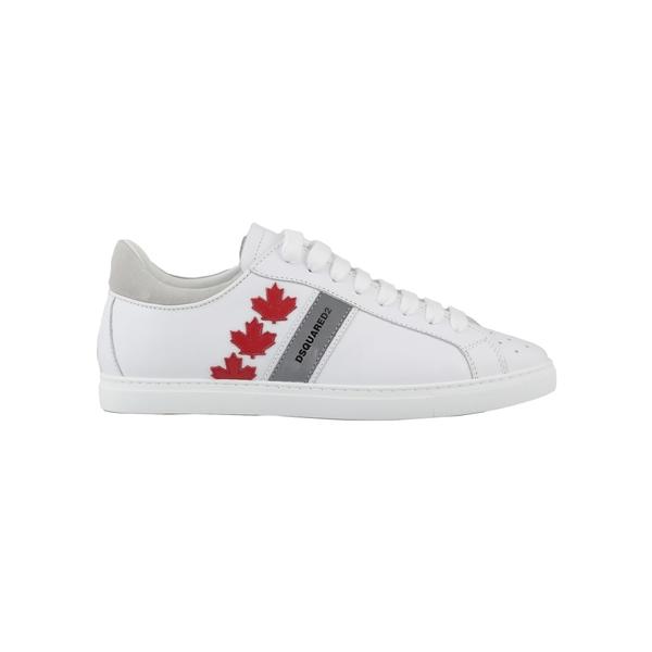ディースクエアード メンズ スニーカー シューズ Dsquared2 Leather Sneaker -