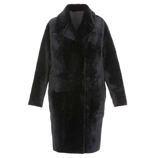 ドローミー レディース ジャケット&ブルゾン アウター DROMe Leather Coat -