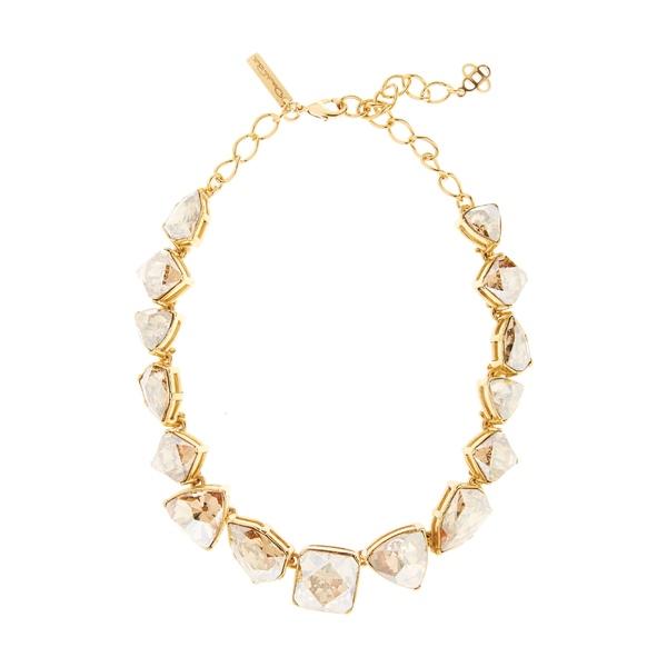 オスカー デ ラ レンタ レディース ネックレス・チョーカー・ペンダントトップ アクセサリー Oscar de la Renta Gallery Collar Necklace Cry Gold Shadow