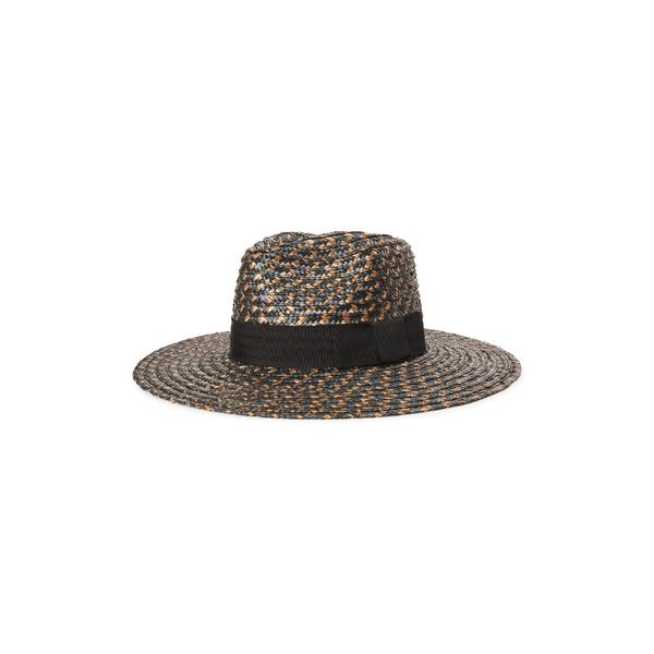 ブリクストン レディース 帽子 アクセサリー Brixton Joanna Straw Hat Washed Black