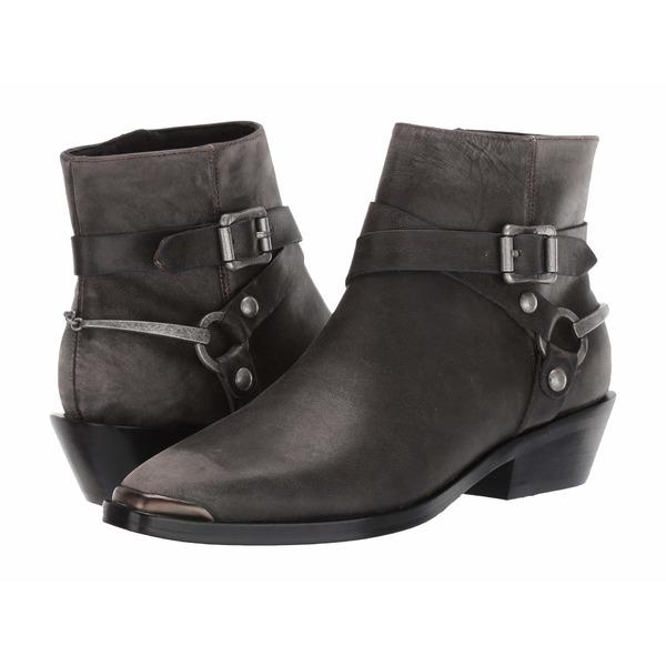 シガーソン モリソン レディース ブーツ&レインブーツ シューズ Jade Dark Gray Distressed Leather