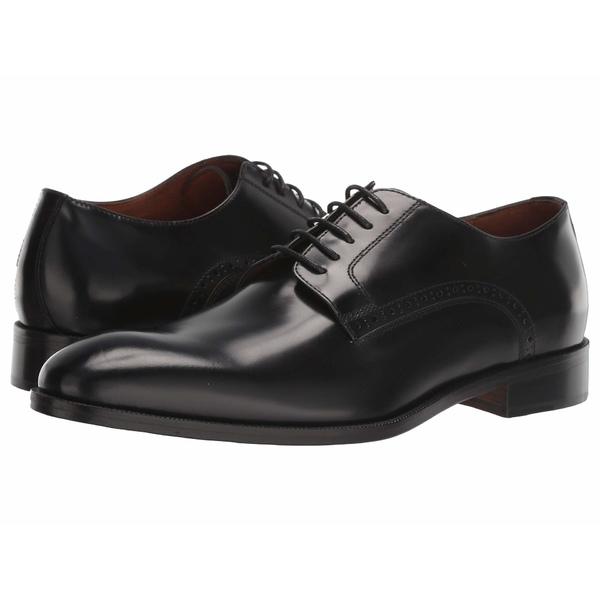 マッシモマッテエロ メンズ ドレスシューズ シューズ Veneto Blucher Black Veneto Leather