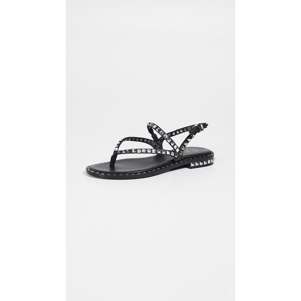 アッシュ レディース サンダル シューズ Peps Thong Sandals Black/Silver Studs