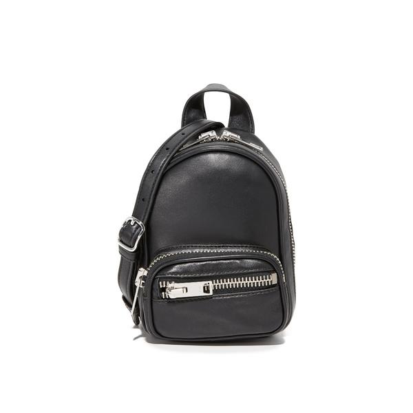 アレキサンダーワン レディース ショルダーバッグ バッグ Attica Soft Mini Cross Body Bag Black