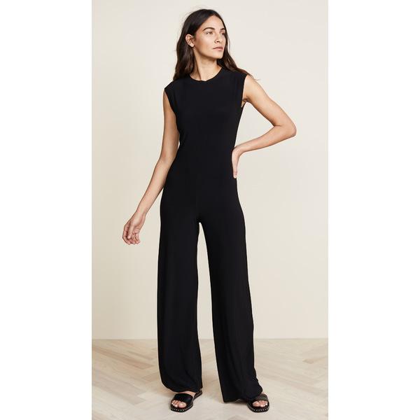 ノーマカマリ レディース ワンピース トップス Kamali Kulture Sleeveless Jumpsuit Black
