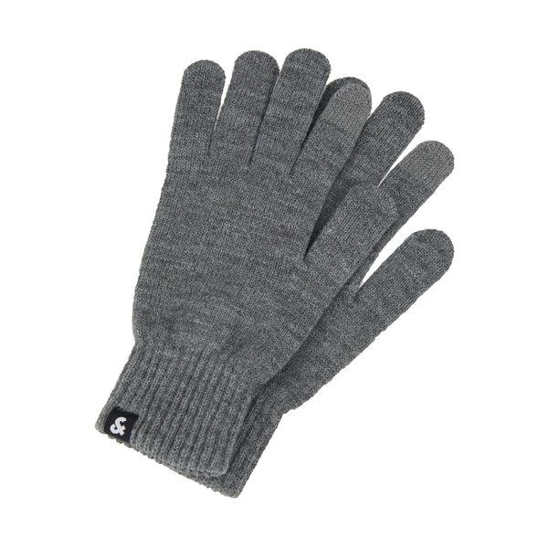 ジャック アンド ジョーンズ 爆買い送料無料 業界No.1 メンズ アクセサリー 手袋 grey Gloves 全商品無料サイズ交換 JACBARRY GLOVES melange -