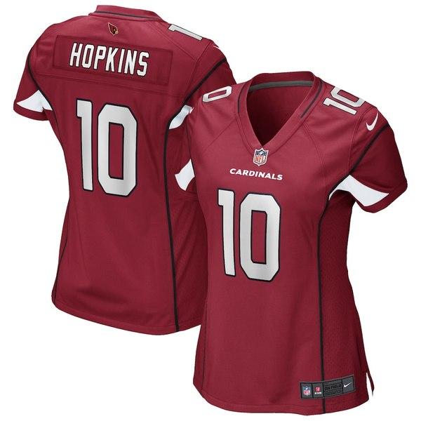 ナイキ レディース シャツ トップス DeAndre Hopkins Arizona Cardinals Nike Women's Game Jersey Cardinal