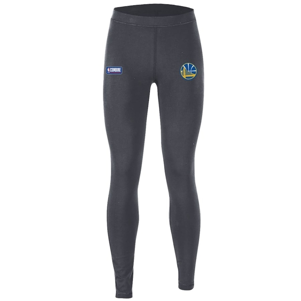 アンダーアーマー レディース カジュアルパンツ ボトムス Golden State Warriors Under Armour Women's Combine Authentic Favorites Performance Leggings Heathered Charcoal