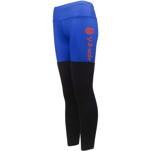 フォコ レディース カジュアルパンツ ボトムス Florida Gators Women's Polyester and Sweater Combo Leggings Royal