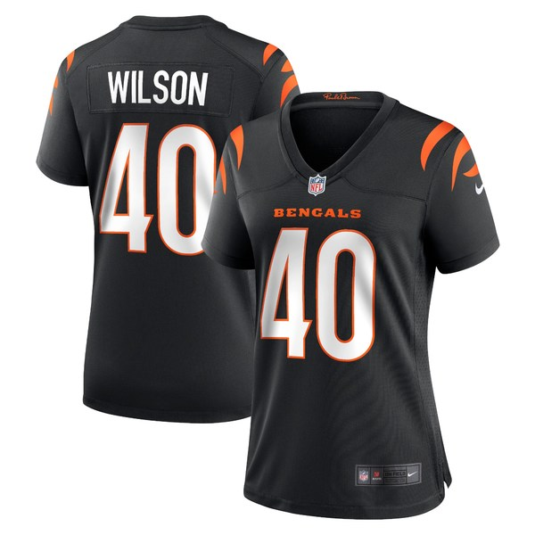 ナイキ レディース ユニフォーム 永遠の定番モデル Black 全商品無料サイズ交換 トップス Brandon Nike Game Jersey Wilson 価格交渉OK送料無料 Cincinnati Bengals Women's