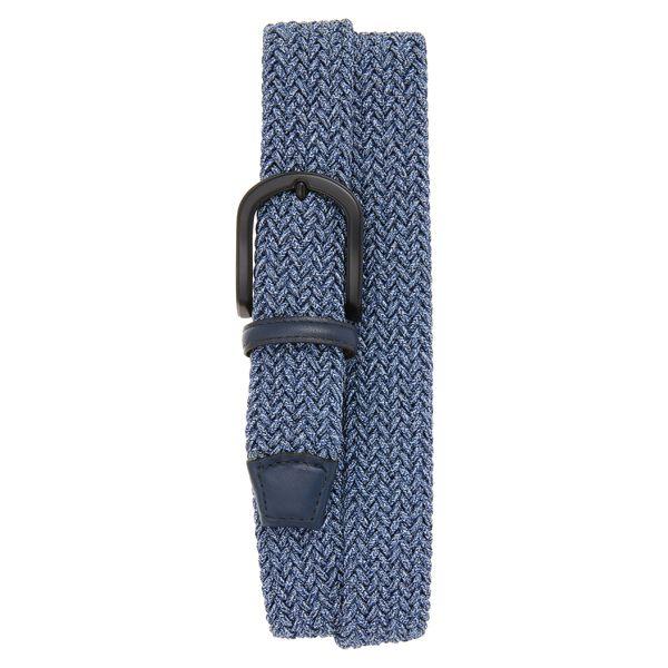 トリノ メンズ ベルト アクセサリー Torino Braided Mlange Belts Navy
