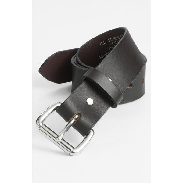 フィルソン メンズ ベルト アクセサリー Filson Leather Belt 0