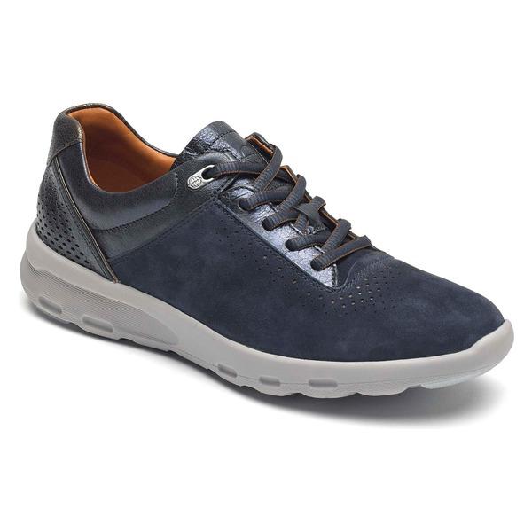 ロックポート レディース スニーカー シューズ Rockport Let's Walk Ubal Sneaker (Women) Blue
