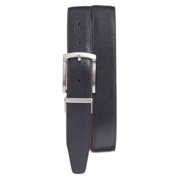 トリノ メンズ ベルト アクセサリー Torino Reversible Leather Belt Black/ Brown