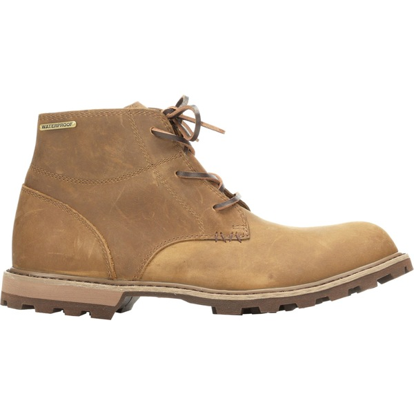 ムックブーツ メンズ スニーカー シューズ Muck Boots Men's Freeman Leather Lace-Up Casual Boots Taupe