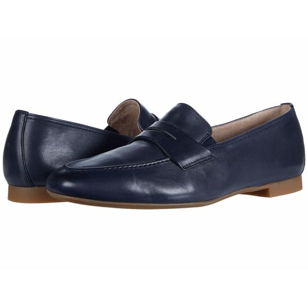 ポール・グリーン レディース スリッポン・ローファー シューズ Bonnie Flat Ocean Leather