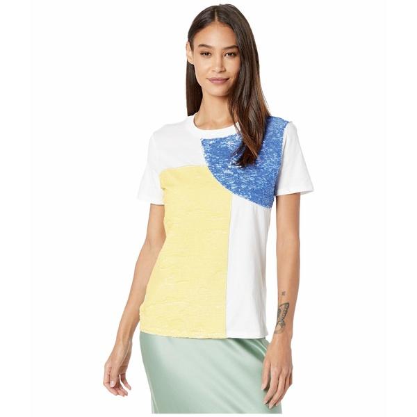 スポーツマックス レディース シャツ トップス Code Jesone Sequin T-Shirt White
