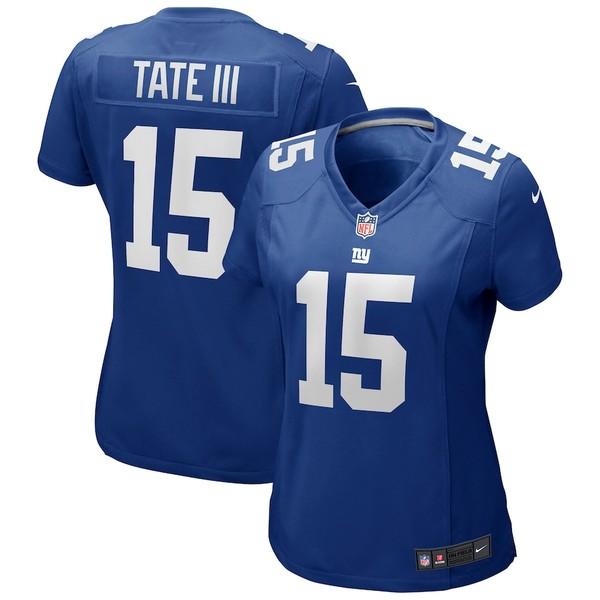 ナイキ レディース シャツ トップス Golden Tate New York Giants Nike Women's Game Jersey Royal