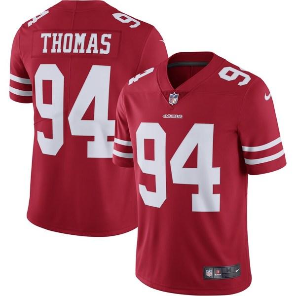 ナイキ メンズ シャツ トップス Solomon Thomas San Francisco 49ers Nike Vapor Untouchable Limited Jersey Scarlet
