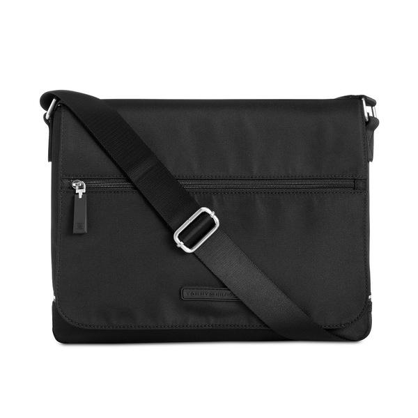 トミー ヒルフィガー メンズ バッグ ショルダーバッグ Black 全商品無料サイズ交換 公式ショップ Messenger Alexander 通販 Bag Men's