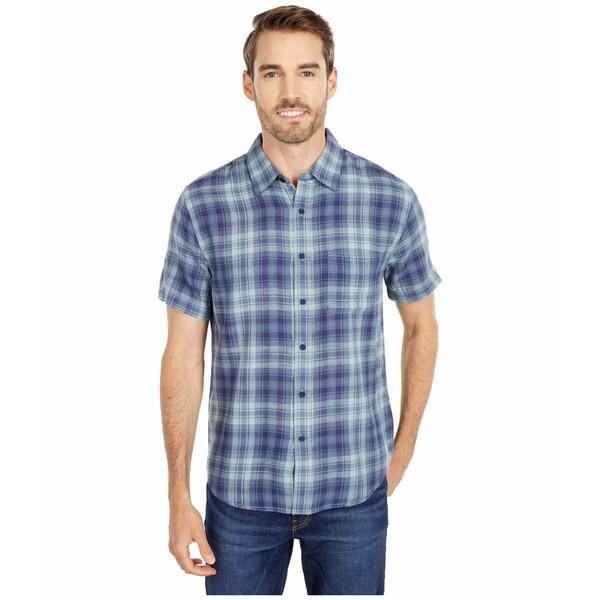 ノーマルブランド メンズ シャツ トップス Skipper Button-Down Shirt Navy Plaid