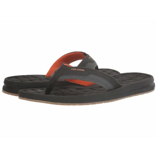 ボルコム メンズ サンダル シューズ E-Cliner Sandal Burnt Orange