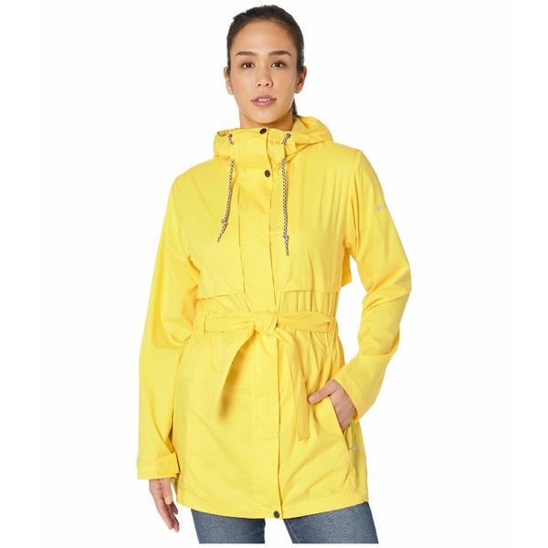 コロンビア レディース コート アウター Pardon My Trench Rain Jacket Buttercup