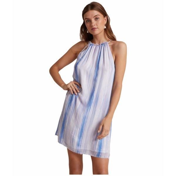 ベラダール レディース ワンピース トップス Fray Halter Dress Ombre Watercolor