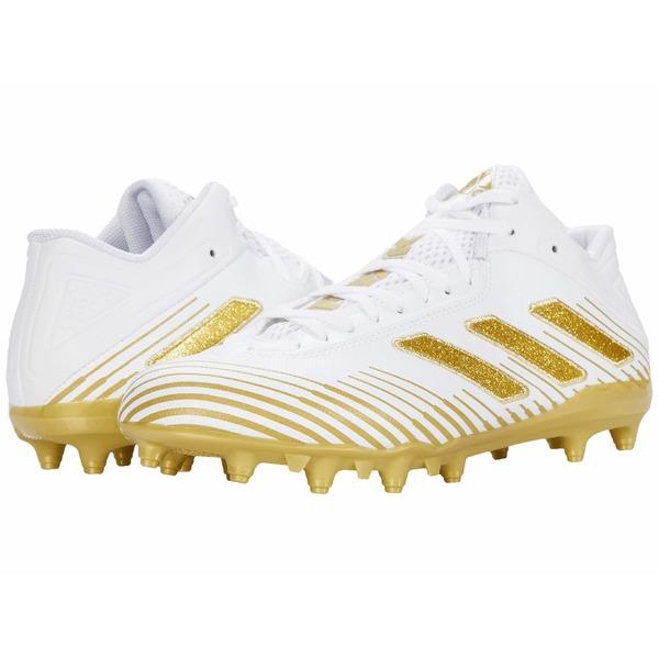 アディダス メンズ スニーカー シューズ Freak Ghost 20 Footwear White/Gold Metallic/Footwear White