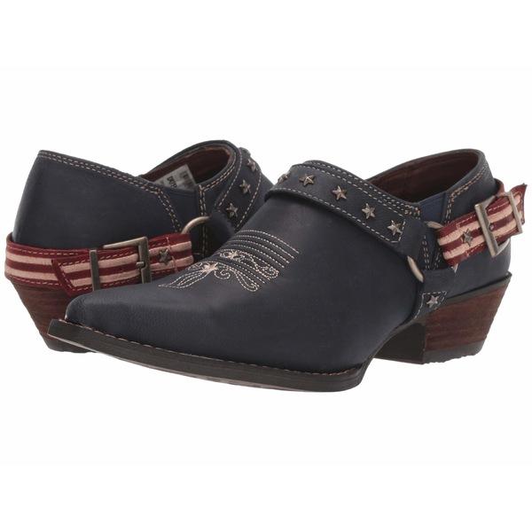 デゥランゴ レディース ブーツ&レインブーツ シューズ Crush Flag Harness Shoe Boot Glory Blue