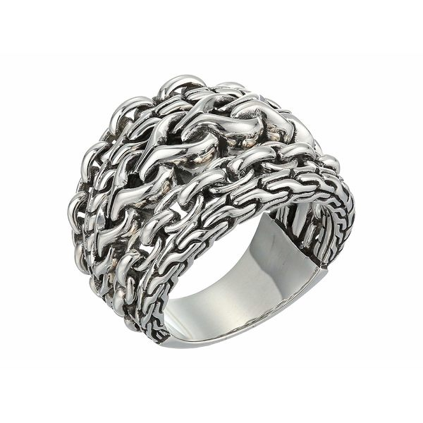 ジョン・ハーディー レディース リング アクセサリー Asli Classic Chain Link Ring Silver