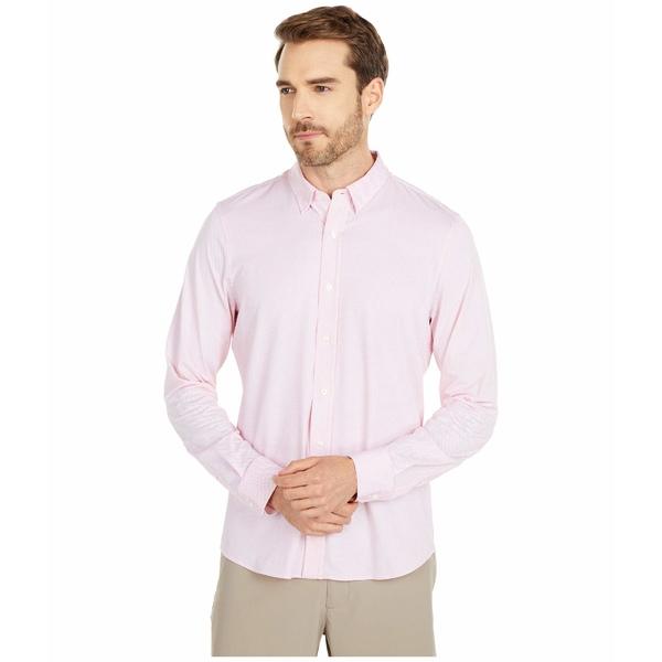 ローヌ メンズ シャツ トップス Commuter Dress Shirt Pink