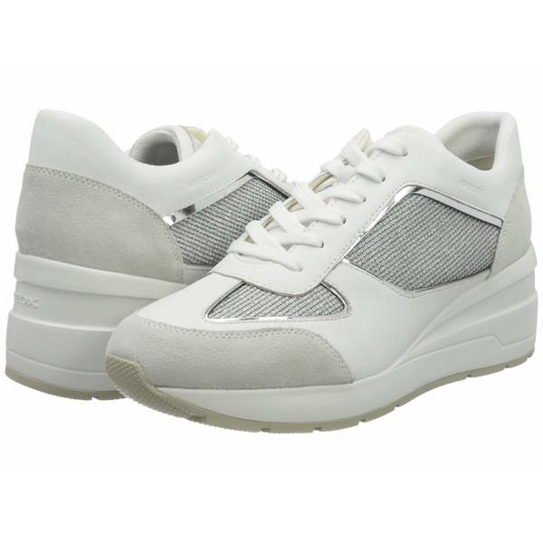 ジェオックス レディース スニーカー シューズ Zosma 11 D028LA Light Grey/White