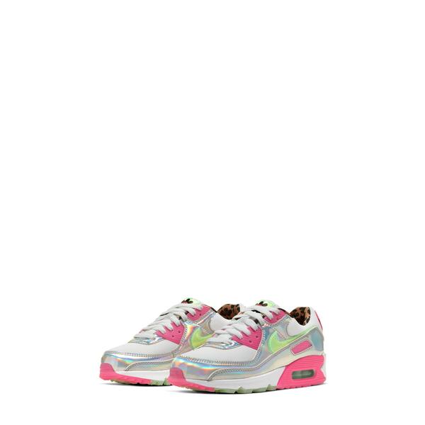ナイキ レディース スニーカー シューズ Air Max 90 LX Sneaker White/ Green/ Fuschia