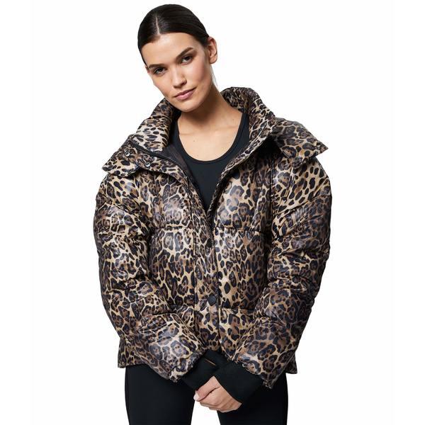 バーレイ レディース コート アウター Highland Jacket Rust leopard