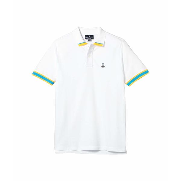 サイコバニー メンズ シャツ トップス Rutland Polo White