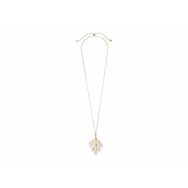 ラッキーブランド レディース ネックレス・チョーカー・ペンダントトップ アクセサリー Palm Leaf Pendant Necklace Gold