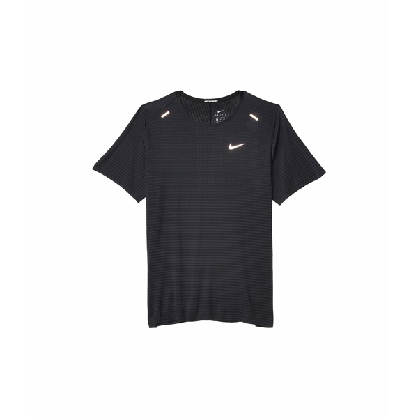 ナイキ メンズ シャツ トップス Techknit Ultra Short Sleeve Black/Dark Smoke Grey/Reflective Silver