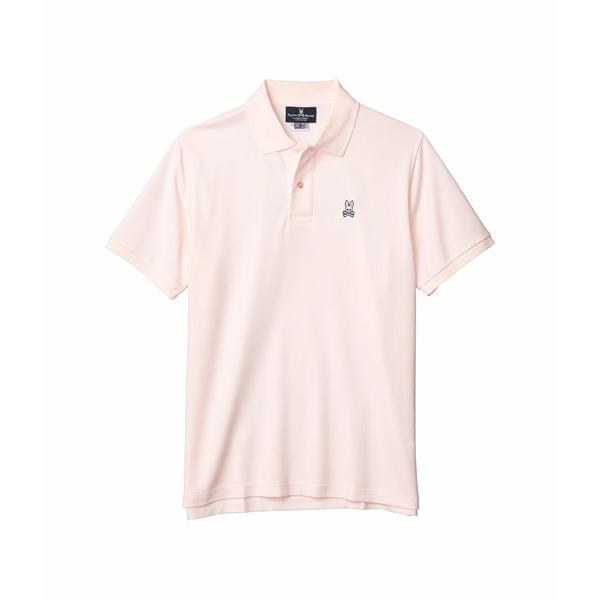 サイコバニー メンズ シャツ トップス Classic Polo Blush