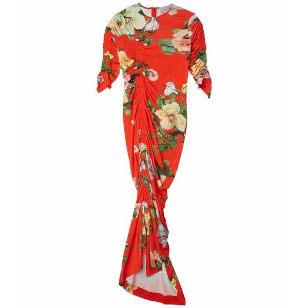 プリーン ソーントン ブルガッジ レディース ワンピース トップス Patience Dress Red Lotus Flower