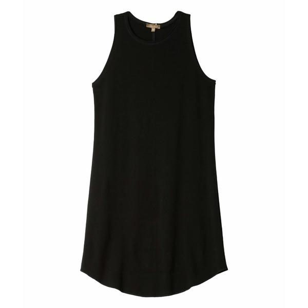 リラピー レディース ワンピース トップス Modern Classics 100% Cotton High Neck Dress Black