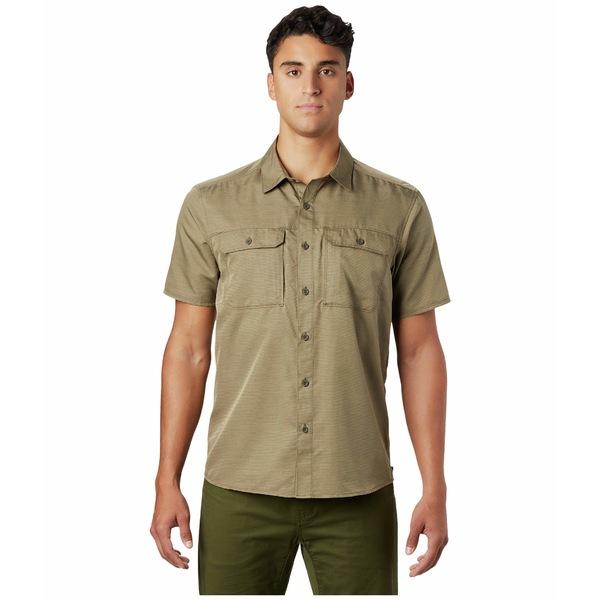 マウンテンハードウェア メンズ シャツ トップス Canyon S/S Shirt Ridgeline