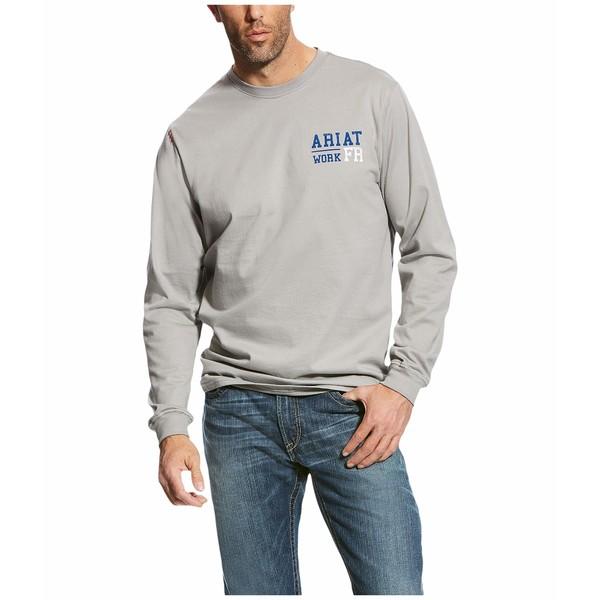アリアト メンズ シャツ トップス FR Americana Graphic T-Shirt Silver Fox