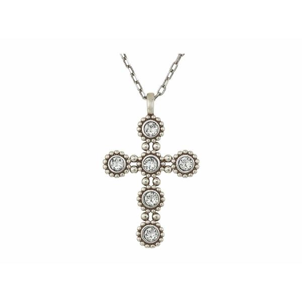ブライトン レディース ネックレス・チョーカー・ペンダントトップ アクセサリー Twinkle Convertible Cross Necklace Crystal
