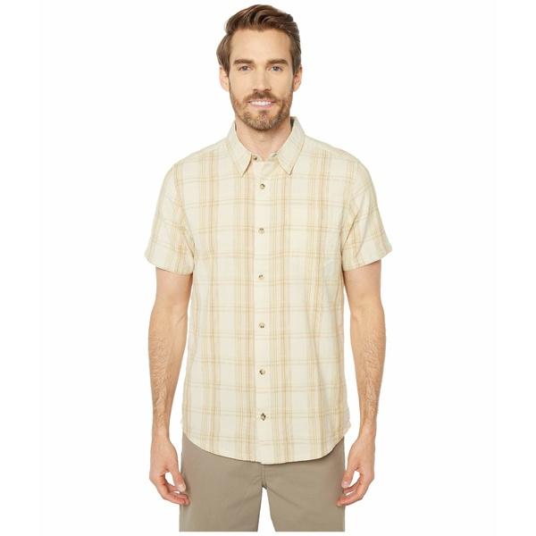 ドード アンドコー メンズ シャツ トップス Airscape Short Sleeve Shirt Salt